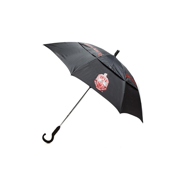 Delta Sigma Theta Sorority Symbolically Vented Umbrella