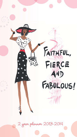 Faithful, Fierce and Fabulous Checkbook Planner