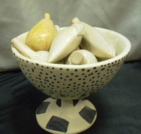 SOAP STONE FRUIT BOWL