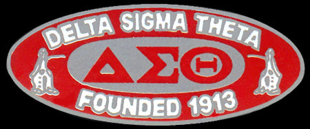 Delta Sigma Theta Sorority Founding Lapel Pin