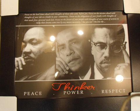 Martin Luther King, Malcolm & Obama