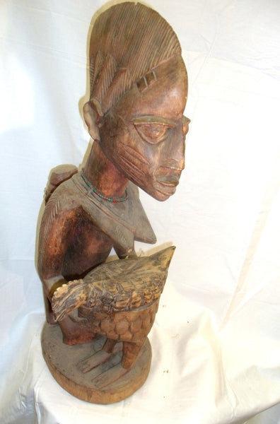 Shango Yoruba Statue Mother And Child