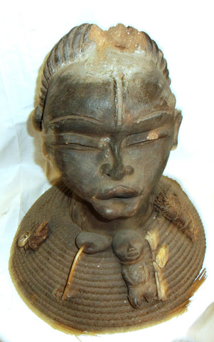 Double Head Reliquary Figure