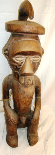 A Seated Male Songhay Figure