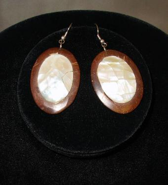 Coconut & Seashell Earring
