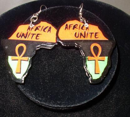 Africa Unite Earrings