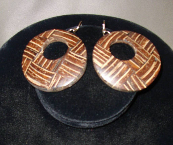 Coconut Shell Earrings