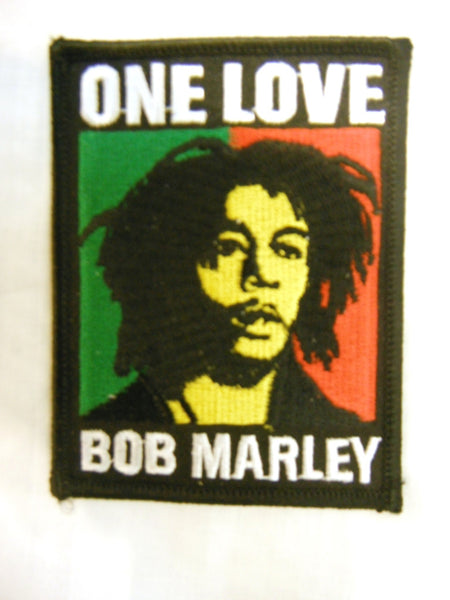 Bob Marley Iron On Patch
