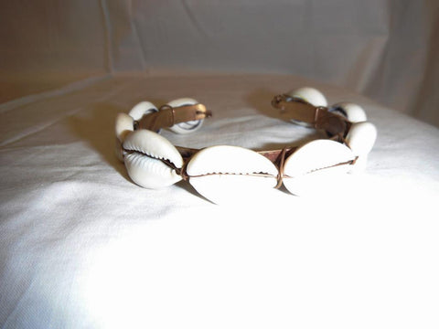 Cowry Shell Copper bracelet