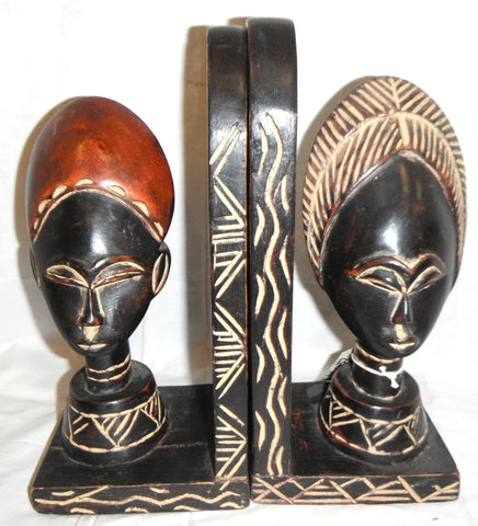 Ashanti Couple Bookends