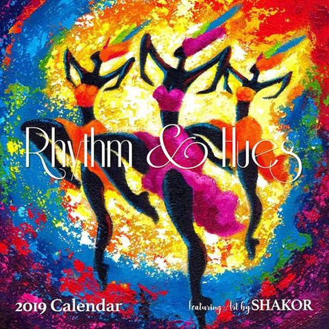 Shades of Color Girlfriends, A Sister's Sentiments African American Calendar by Cidne Wallace 2019 Calendar