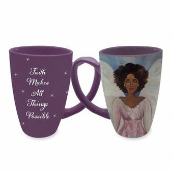 """Faith Makes All Things Possible"" Mug"