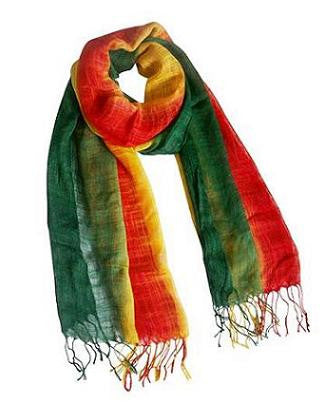 Red, Yellow, & Green Scarf