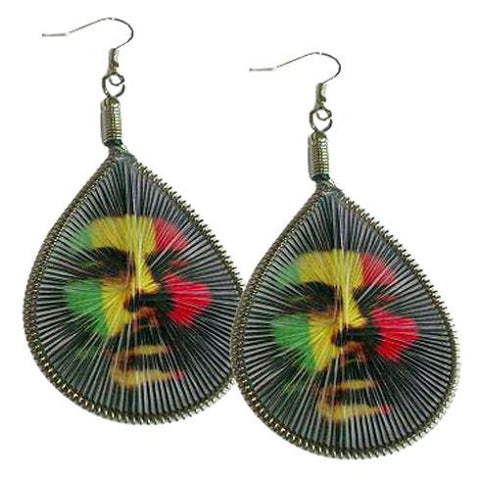 Rasta Man Dream Catcher Earrings