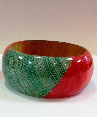 Red & Green Bangle