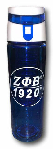 Zeta Phi Beta Tritan. Water Bottle