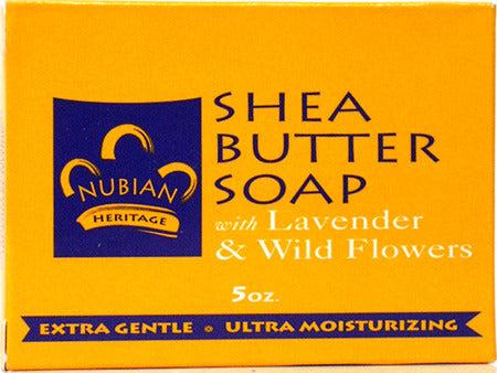 Shea Butter Soap w/ Lavender & Wildflowers