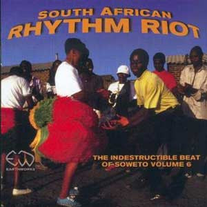 SOUTH AFRICAN RHYTHM RIOT CD