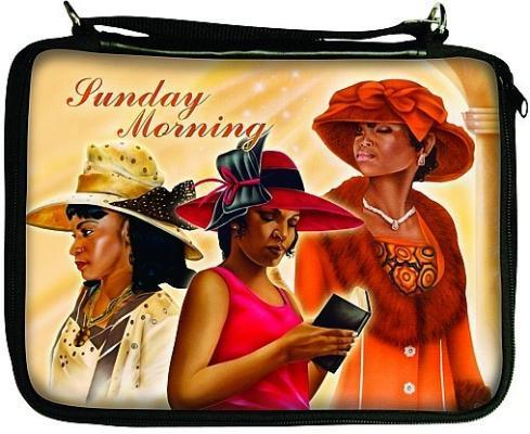 Sunday Morning Bible/Book Cover Bag