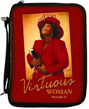 Virtuous Woman Bible/Book Cover Bag