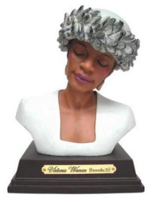 Virtuous Woman Ceramic Figurine