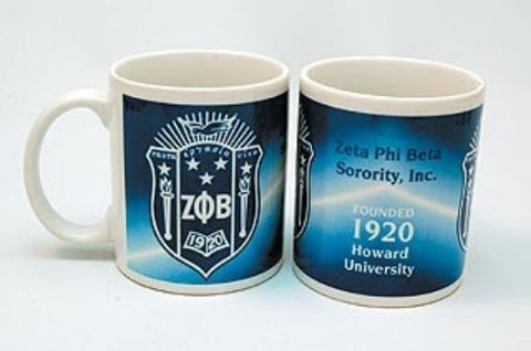 Zeta Phi Beta Coffee Mug