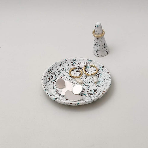 Set of Jewel Dish & Ring Holder
