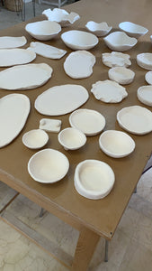 Workshop Bowls & Plate