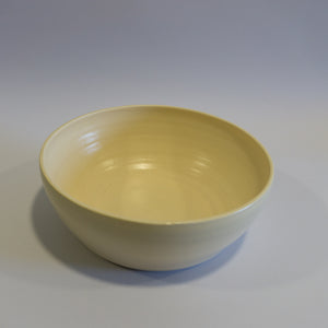 Beige Salad Bowl