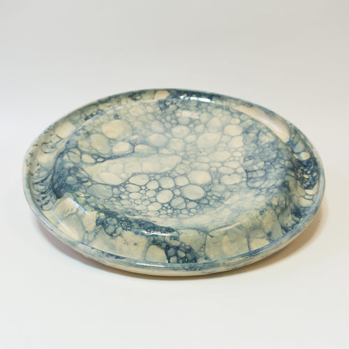 Serving Platter Extra Large Blue Lagoon