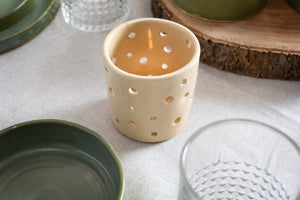 Candle Holder - NieNie Ceramica
