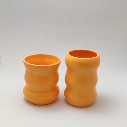 Orange Small Budvase