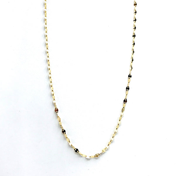 Sparkly Italian Gold Chain