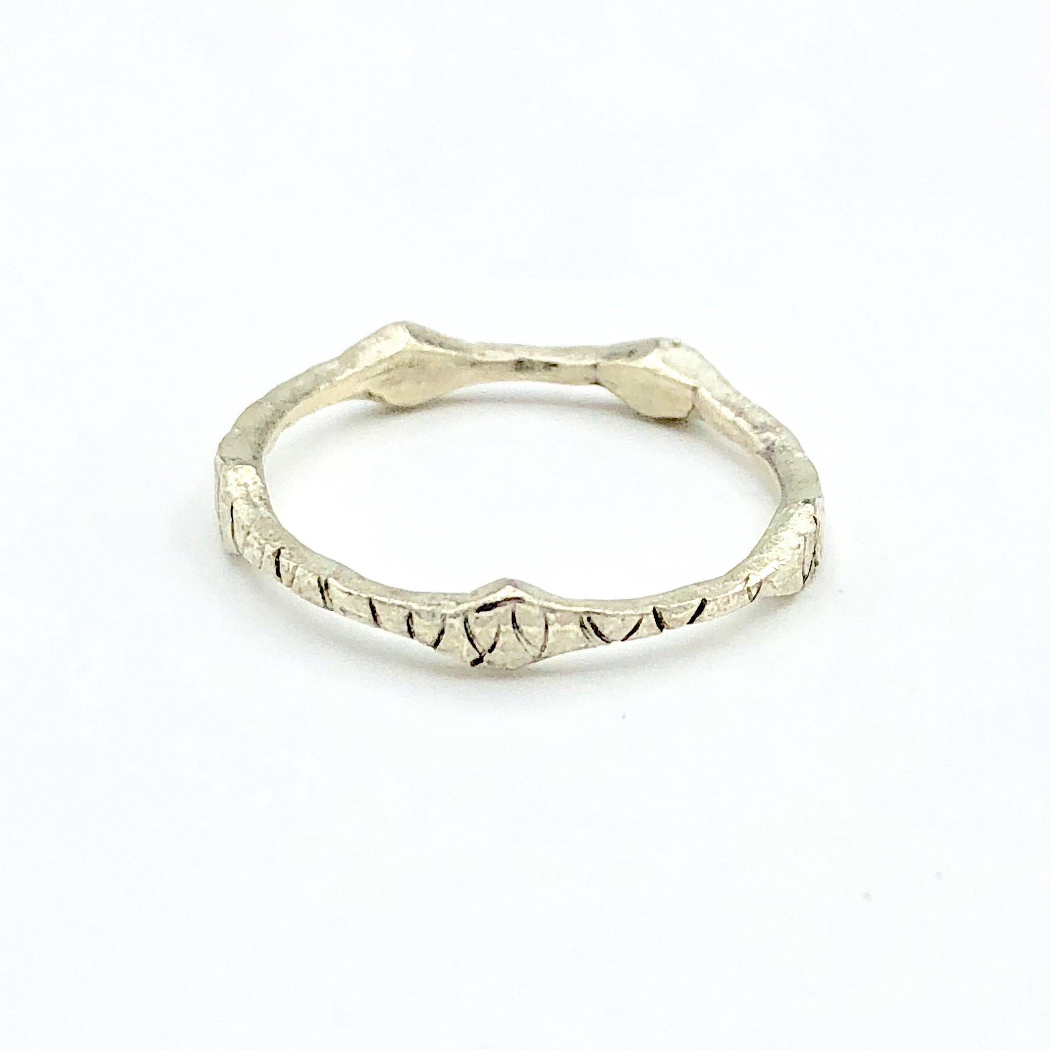Sterling Silver Detailed Ring