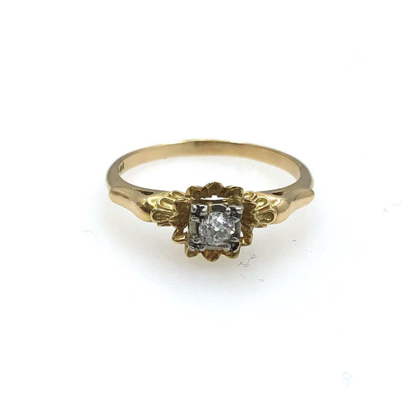 Ornate Diamond Ring
