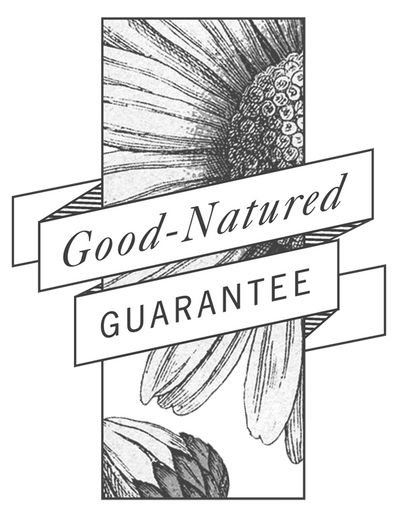Good-natured Guarantee banner