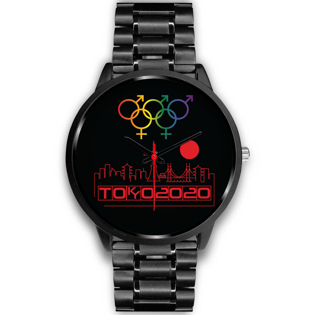 Tribe of the Union Rings Mix Gender Big 'O' Games Red Skyline Watch