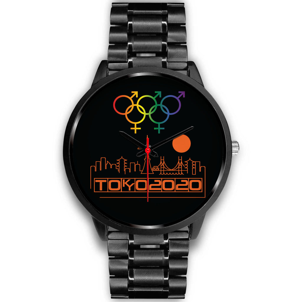 Tribe of the Union Rings Mix Gender Big 'O' Games Orange Skyline Watch