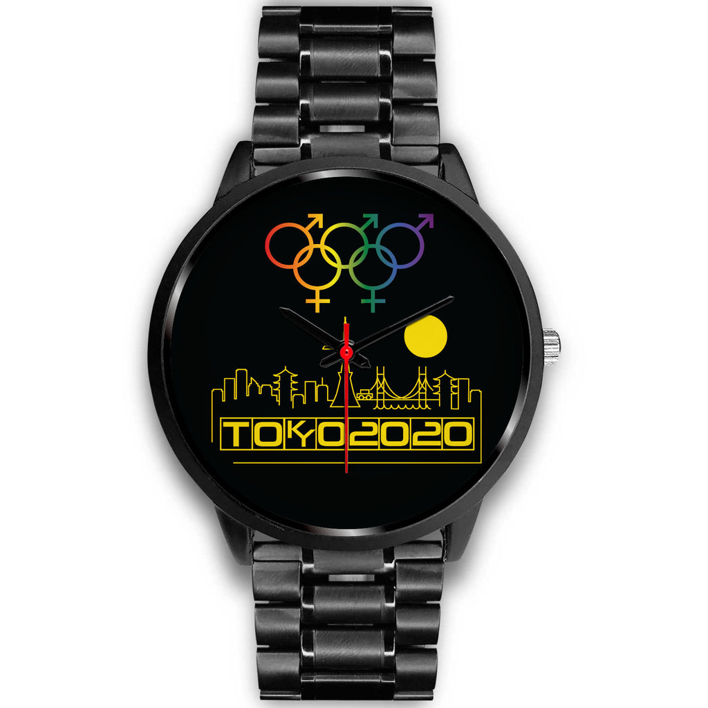 Tribe of the Union Rings Mix Gender Big 'O' Games Yellow Skyline Watch