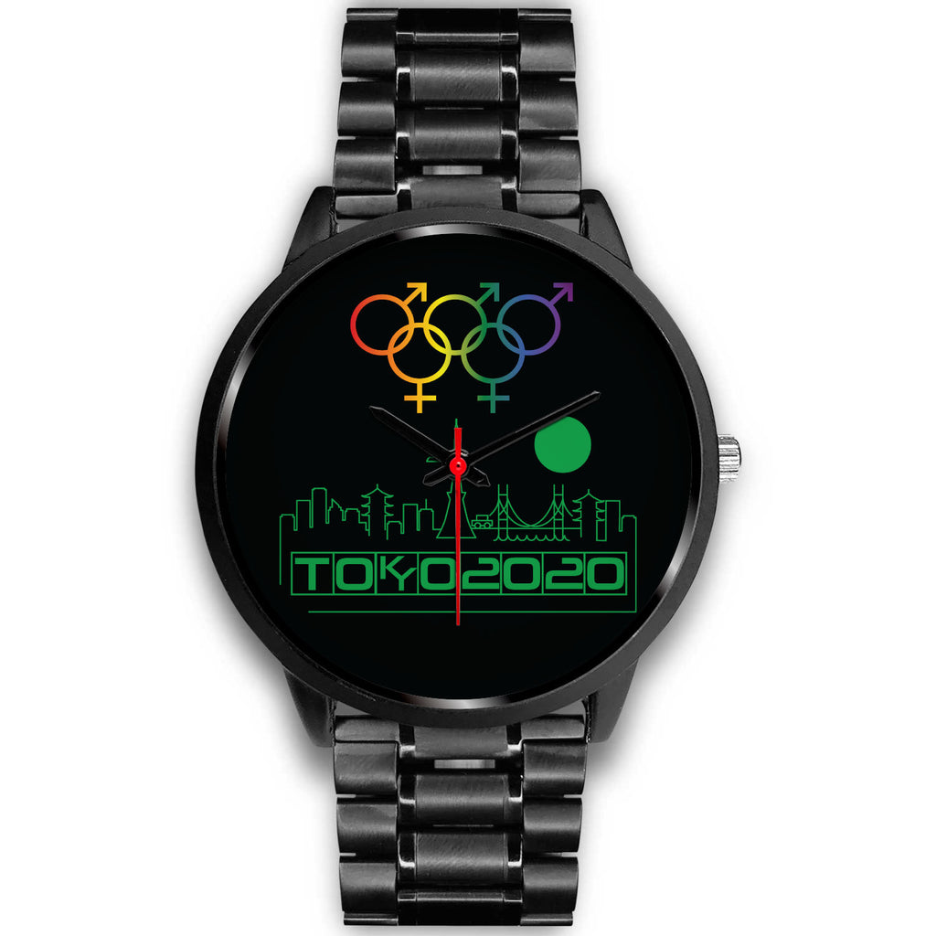 Tribe of the Union Rings Mix Gender Big 'O' Games Green Skyline Watch