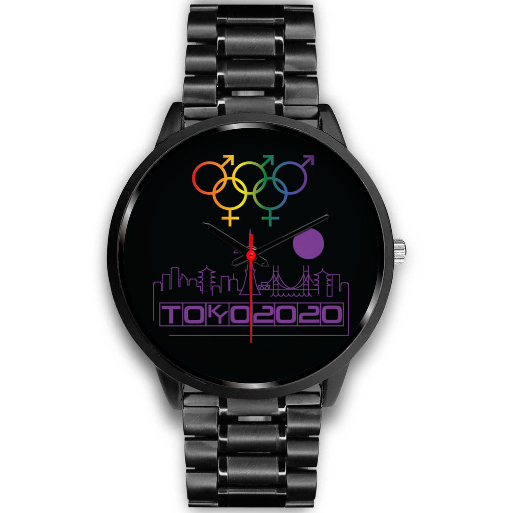 Tribe of the Union Rings Mix Gender Big 'O' Games Purple Skyline Watch