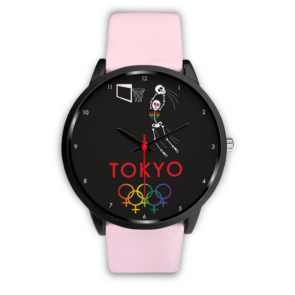 Tribe of the Union Rings Female Gender Tokyo 2020 Women's Basketball Watch