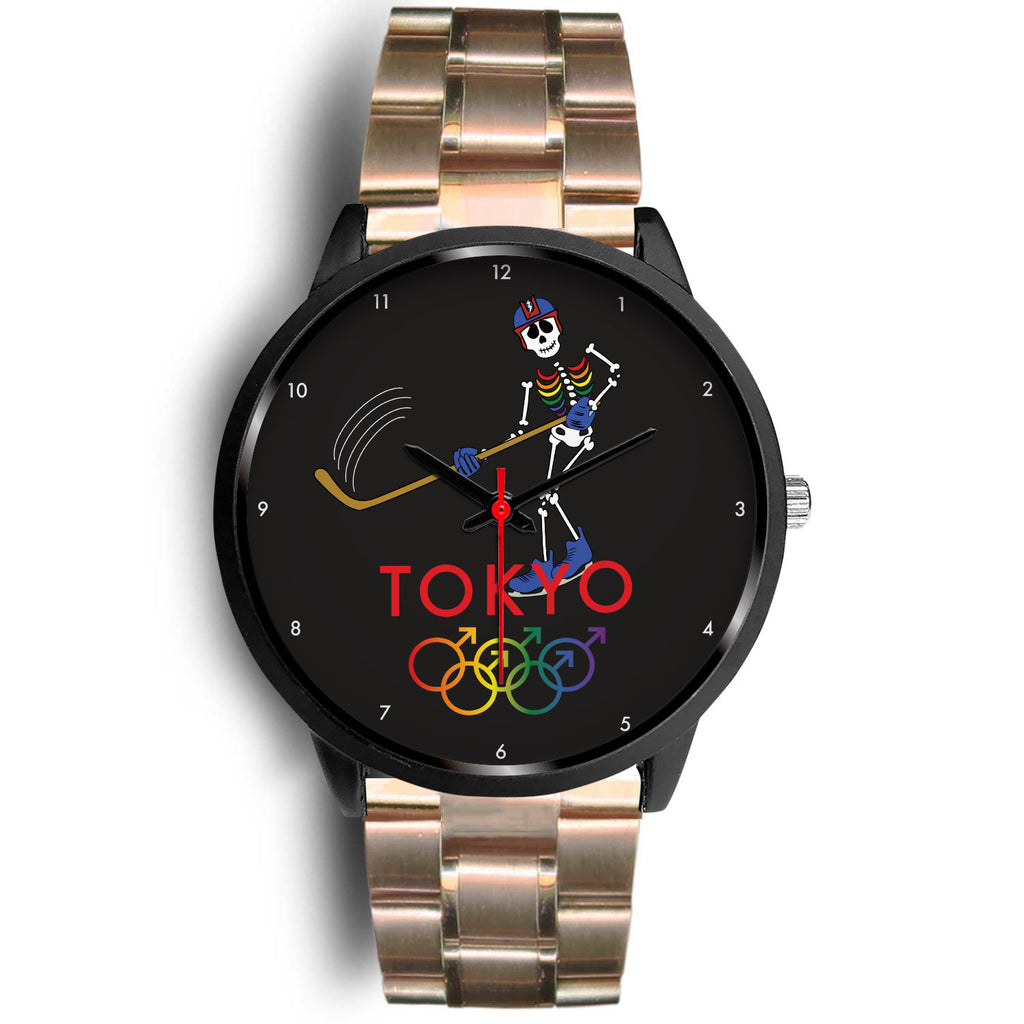 Tribe of the Union Rings Male Gender Tokyo 2020 Men's Ice Hockey Watch