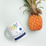 Tribe of the Union Rings Male Gender Identity Blue Skyline Big 'O' Games 11oz./15oz. Coffee Mug