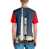 Kennedy Space Center Rocket Garden Spaceport Florida USA Men's All-Over T-shirt