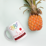 Tribe of the Union Rings Male Gender Identity Red Skyline Big 'O' Games 11oz./15oz. Coffee Mug