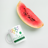 Tribe of the Union Rings Mixed Gender Identity Green Skyline Big 'O' Games 11oz./15oz. Coffee Mug