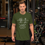 Hammer & Nail Bar-themed Pick-me-up Darker Colors Short-Sleeve Unisex T-Shirt