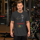 Tribe of the Union Rings Male Gender Identity 2020 Big 'O' Games Men's Ice Hockey Short-Sleeve Unisex T-Shirt
