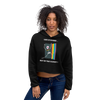 Life Is Easier Out Of The Closet/Heck, Yeah!! Crop Hoodie